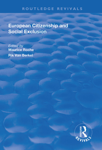 European Citizenship and Social Exclusion book cover