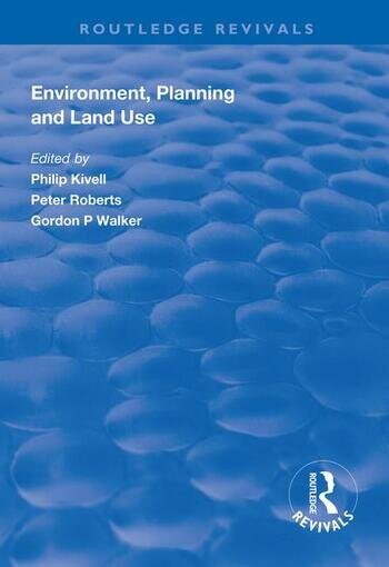 Environment, Planning and Land Use book cover