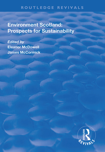 Environment Scotland Prospects for Sustainability book cover