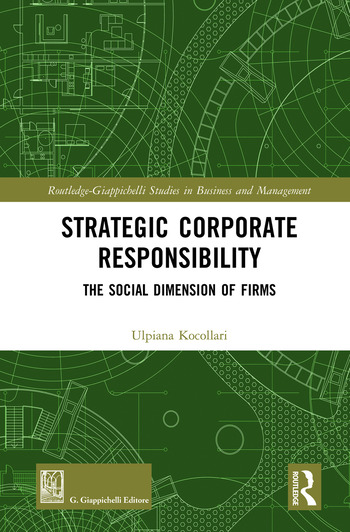 Strategic Corporate Responsibility The Social Dimension of Firms book cover