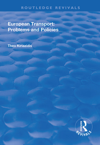 European Transport Problems and Policies book cover