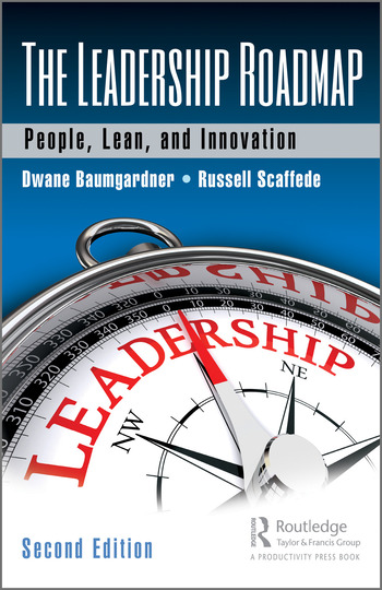 The Leadership Roadmap People, Lean, and Innovation, Second Edition book cover