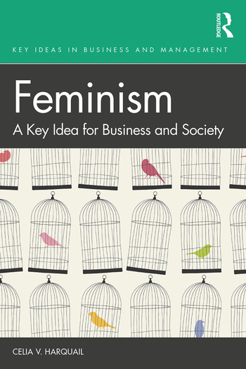 Feminism A Key Idea for Business and Society book cover