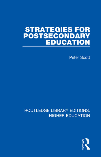 Strategies for Postsecondary Education book cover