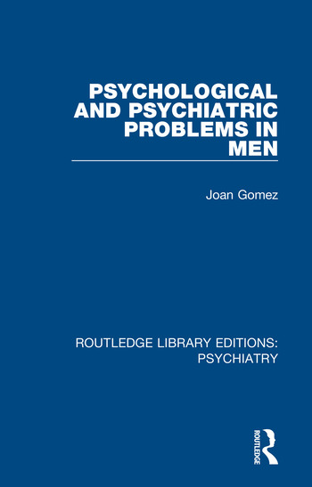 Psychological and Psychiatric Problems in Men book cover