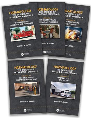Hazmatology The Science of Hazardous Materials, Five-Volume Set book cover