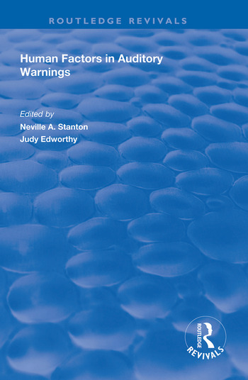Human Factors in Auditory Warnings book cover
