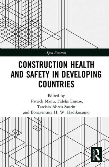 Construction Health and Safety in Developing Countries book cover