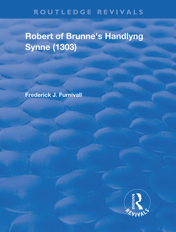 Robert of Brunne's Handlyng Synne (1303) And its French Original book cover