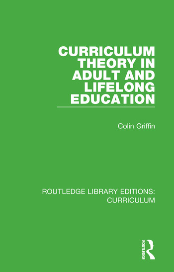Curriculum Theory in Adult and Lifelong Education book cover