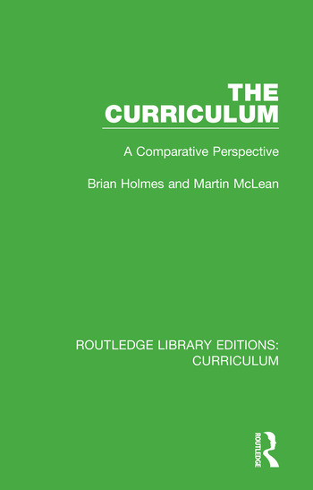 The Curriculum A Comparative Perspective book cover