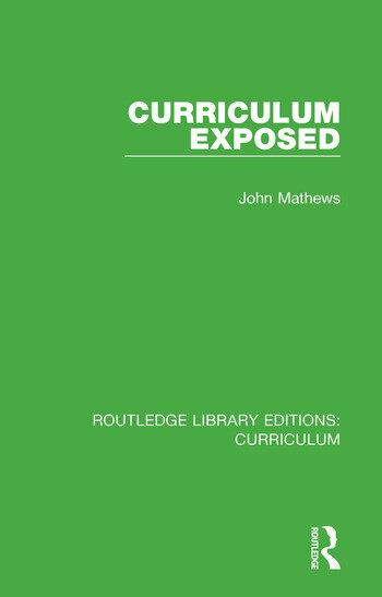 Curriculum Exposed book cover