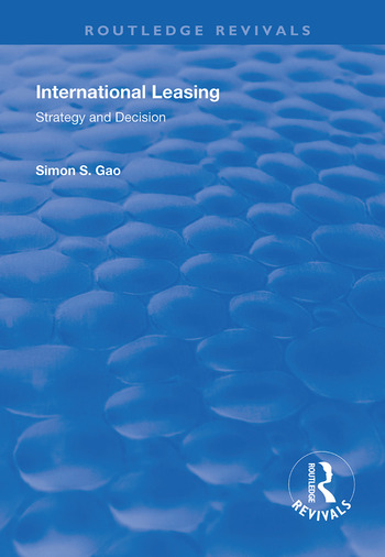 International Leasing Strategy and Decision book cover