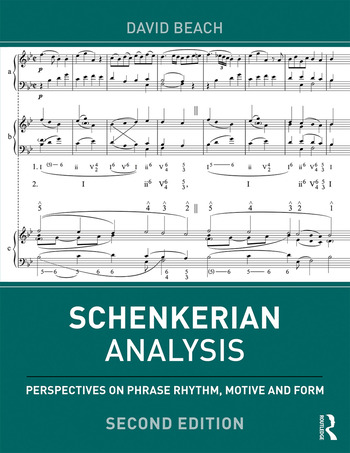 Schenkerian Analysis Perspectives on Phrase Rhythm, Motive and Form book cover