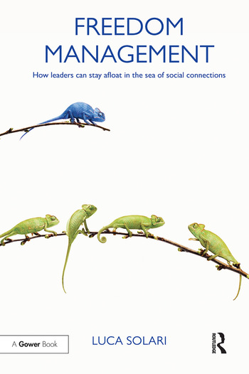 Freedom Management How leaders can stay afloat in the sea of social connections book cover