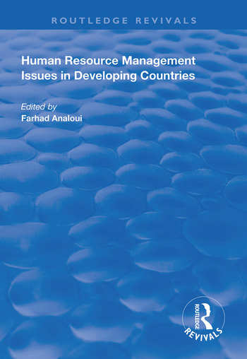 Human Resource Management Issues in Developing Countries book cover