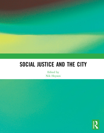 Social Justice and the City book cover