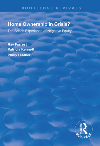 Home Ownership in Crisis? The British Experience of Negative Equity book cover