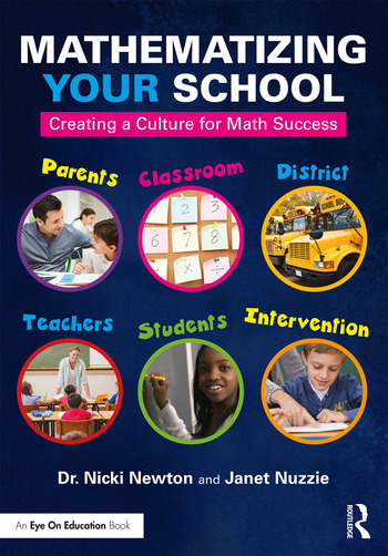 Mathematizing Your School Creating a Culture for Math Success book cover