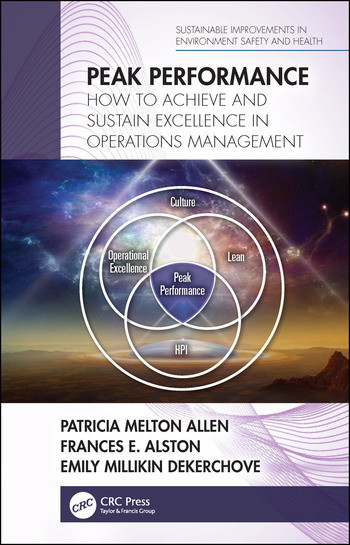 Peak Performance How to Achieve and Sustain Excellence in Operations Management book cover