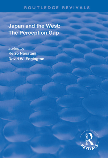 Japan and the West: The Perception Gap book cover