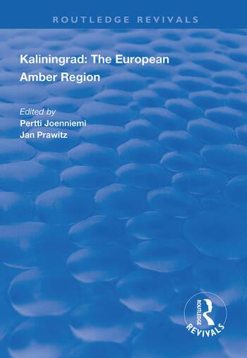 Kaliningrad: the European Amber Region book cover