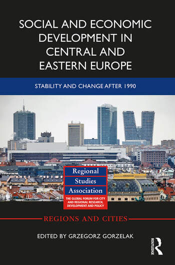 Social and Economic Development in Central and Eastern Europe Stability and Change after 1990 book cover