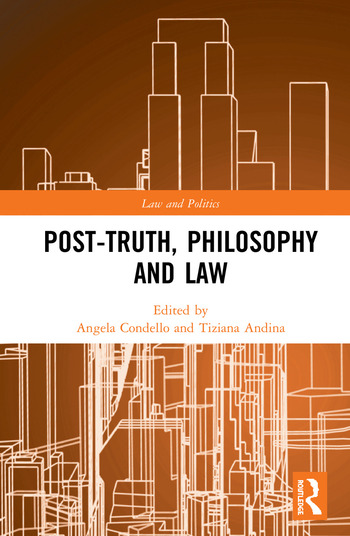 Post-Truth, Philosophy and Law book cover