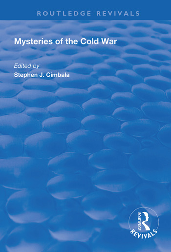 Mysteries of the Cold War book cover