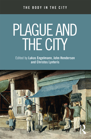 Plague and the City book cover