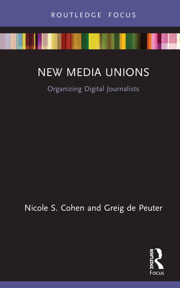 New Media Unions Organizing Digital Journalists book cover