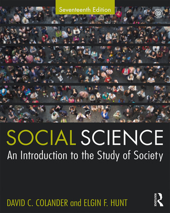 Social Science An Introduction to the Study of Society book cover