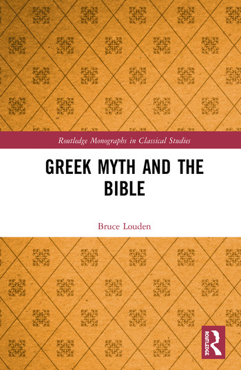 Greek Myth and the Bible book cover