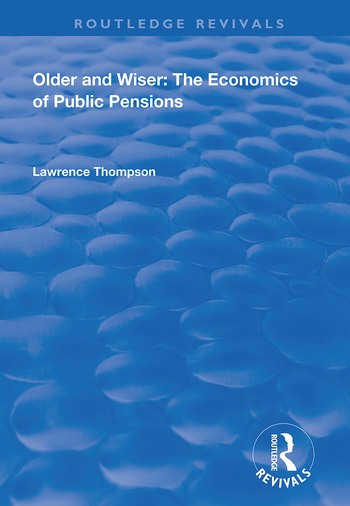 Older and Wiser Economics of Public Pensions book cover