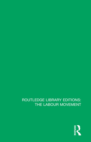 Recollections of a Labour Pioneer book cover
