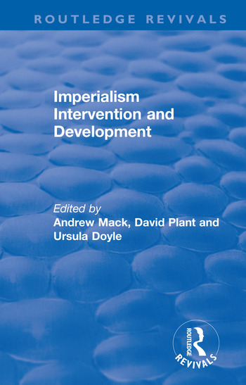 Imperialism Intervention and Development book cover