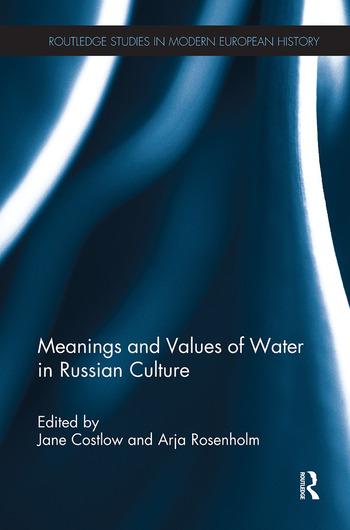 Meanings and Values of Water in Russian Culture book cover