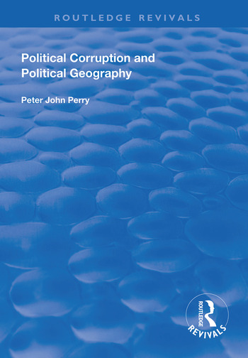 Political Corruption and Political Geography book cover