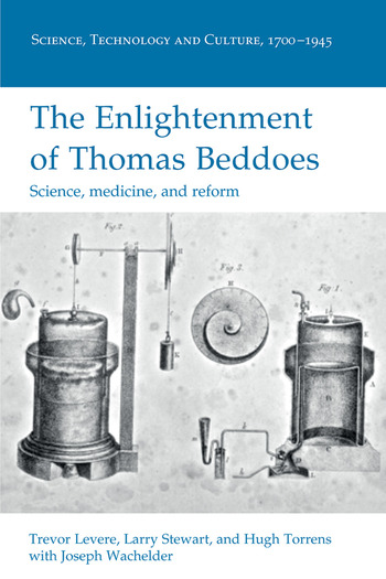 The Enlightenment of Thomas Beddoes Science, medicine, and reform book cover