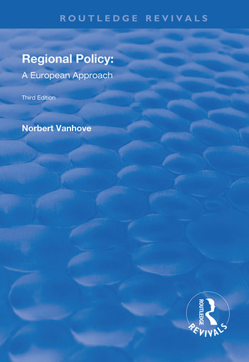 Regional Policy A European Approach book cover