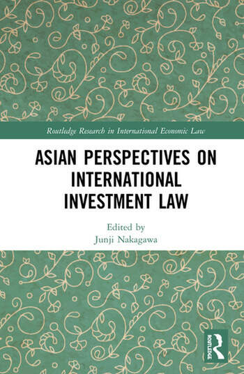 Asian Perspectives on International Investment Law book cover