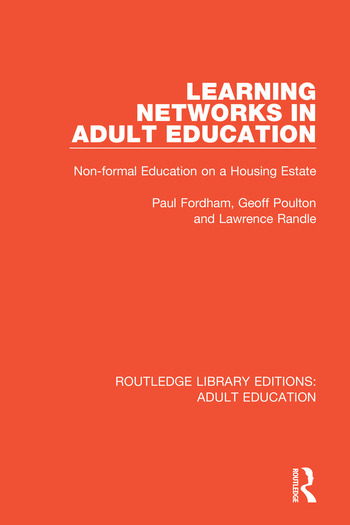 Learning Networks in Adult Education Non-formal Education on a Housing Estate book cover