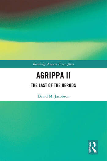 Agrippa II The Last of the Herods book cover