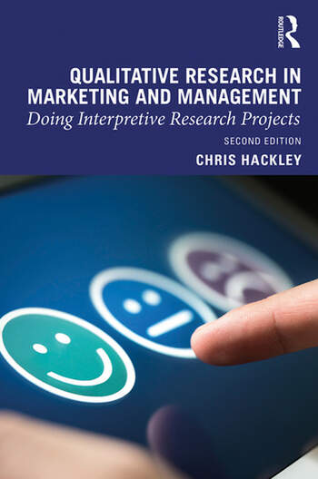 Qualitative Research in Marketing and Management Doing Interpretive Research Projects book cover
