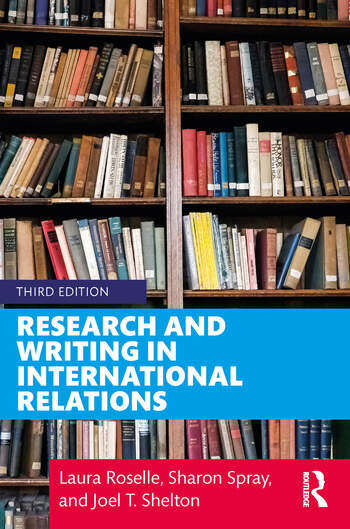 Research and Writing in International Relations book cover