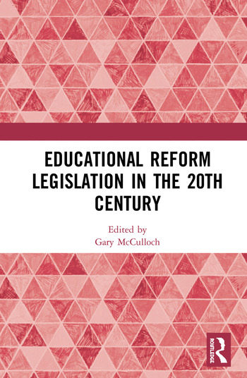 Educational Reform Legislation in the 20th Century book cover
