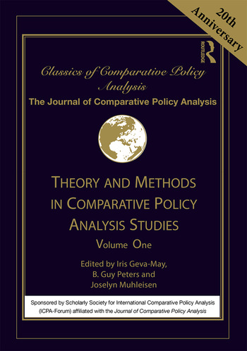 Theory and Methods in Comparative Policy Analysis Studies Volume One book cover