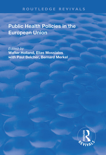 Public Health Policies in the European Union book cover