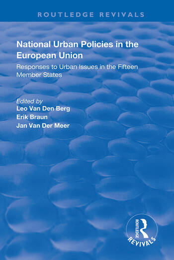 National Urban Policies in the European Union book cover