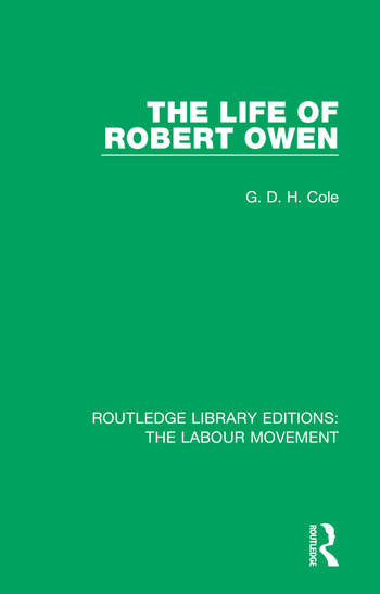 The Life of Robert Owen book cover